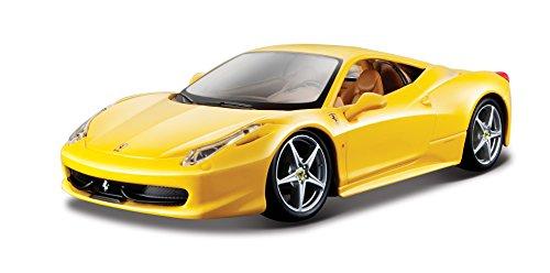 Bburago - 26003r - Véhicule Miniature - Modèle À L'échelle - Ferrari 458 Italia - 2009 - Echelle 1/2