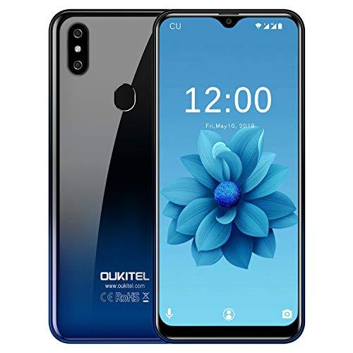 OUKITEL C15 Pro (2020) Offerte Cellulari Android 9.0 Smartphone in Offerta 4G LTE, 6.088  HD (19:9) MT6761 Quad-Core 2.0 GHz,Batteria 3200mAh, 3GB+32GB,2 Nano SIM+MicroSD,8MP+2MP+5MP, Face Unlock