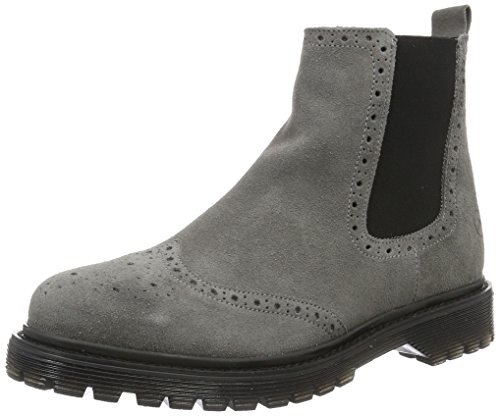Bronx Damen Brifka-chunkyX Chelsea Boots, Grau (08 Grey), 40 EU