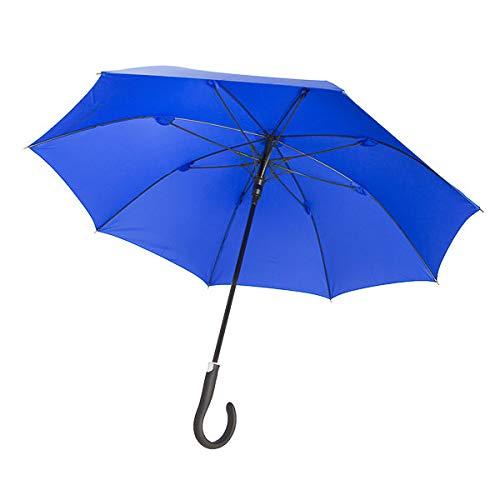Sicherheitsschirm - Con curso de vídeo gratuito | Paraguas de seguridad irrompible para mujeres | Mejora tu capacidad de defensa inmediatamente | No requiere un entrenamiento prolongado.
