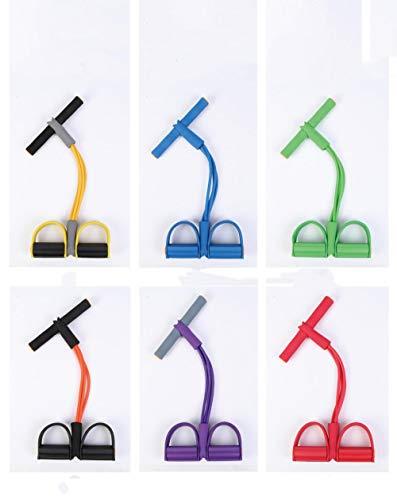 HYY Rally Pull Corda attrezzature per il Fitness estrattore di pedali per uomini e Donne attrezzature per il Fitness-Giallo