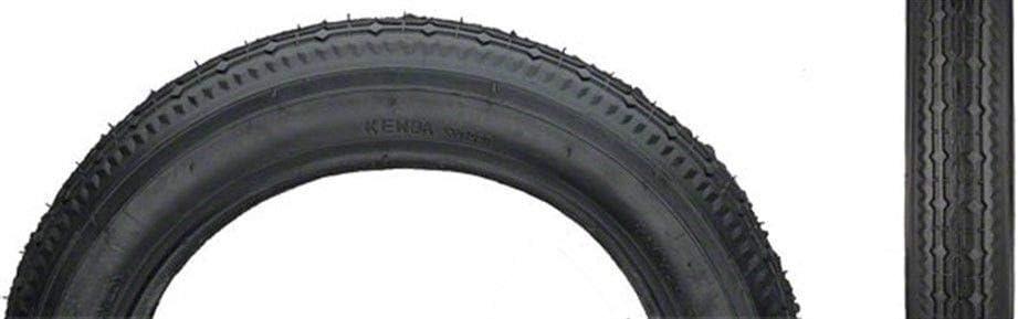 Kenda Black Street K124, Tire, 12''X2-1/4, Wire, Clincher, Black