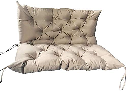 YANJ Outdoor Garden Patio Bench Cushion 2 3 Seater...
