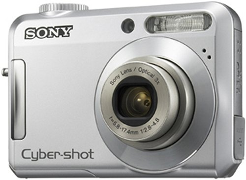 Sony Cybershot DSC-S650 7.2 MP 3x Optical Zoom Digital Camera (Silver)
