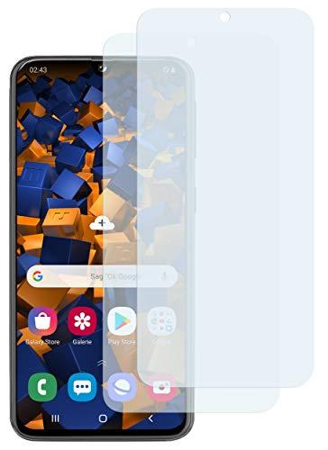 mumbi Schutzfolie kompatibel mit Samsung Galaxy A40 Folie klar, Displayschutzfolie (2x)