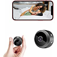Mini Wireless 1080p Spy Camera with Night Vision & Motion Detection