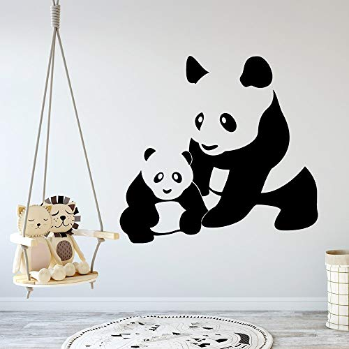 yaonuli Panda Muursticker, zelfklevend behang, keuken, restaurant, muursticker