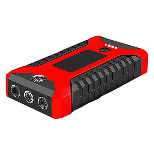 LBYDXD Arrancador de Coches, 20000mAh 12V Litio Car Battery Booster, Cargador de Emergencia portátil Batería Banco de energía Dispositivo de Arranque de Refuerzo