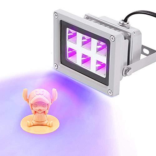 SEAAN UV-Harz-Härtungslicht 405 nm UV-Harz für SLA/DLP,3D-Drucker Lichtverfestigendes lichtempfindliches Harz, Für UV-Härtung, photochemische Katalyse, Handy-LCD-Bildschirm (6 W)
