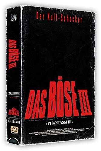 Phantasm III - Das Böse III - 3-Disc VHS-Box mit Poster - Uncut   (+ DVD) (+ Bonus-DVD) [Blu-ray]