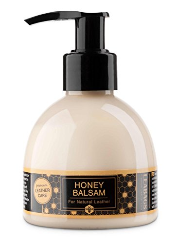 LEABAGS Honey Balsam leather care lotion for all types of leather - 125 ml
