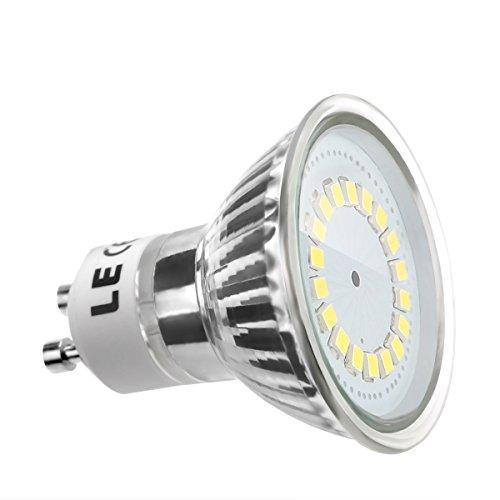 LE 3.5W MR16 GU10 LED Lampen, Ersatz für 50W Halogenlampen, 350lm, Kaltweiß, 6000K, 120° Abstrahwinkel, LED Birnen, LED Leuchtmittel
