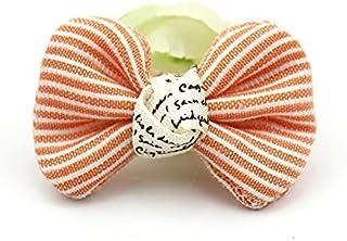 CDYEGSJ 20pcs 3 * 4.5cm Approche de Tissu à Bowknot à la Main for Le pinceur de Cheveux de bébé Craft Headwear décoration ...