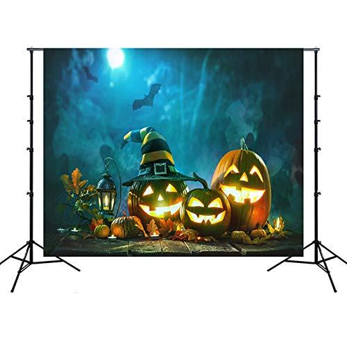 Ommda fotoachtergrond Halloween pompoen fotostudio vinyl achtergrond achtergrond voor verjaardag party fotostudio rekwisieten decoratie, HSSY-WSJ02-7, 3x6m(BxH)