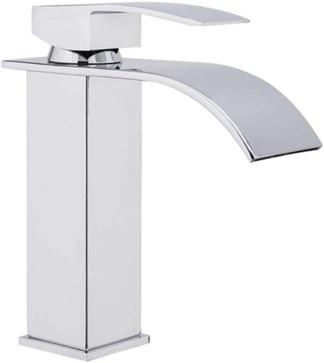 Brass Hot and Cold Chrome Plating Sink Faucet Basin Faucet Brass Faucet Water Single Handle Mixer Tap Deck Mount Torneira