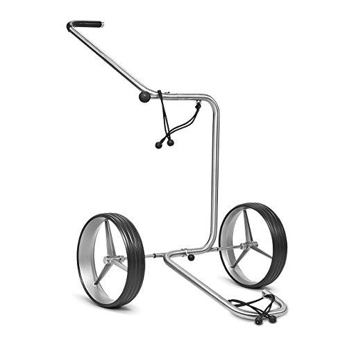 TiCad Star 2 Rad Golftrolley mit Titan Rändern