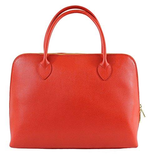 Chicca Borse 2131 Borsa a Mano, 38 cm, Rosso