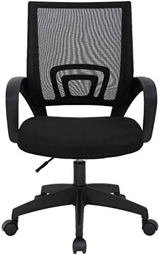 Cardona Silla de Oficina, Silla de Escritorio ergonómica, Regulable en Altura, Silla de Malla para computadora