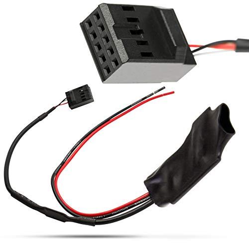 Adapter Universe auto Bluetooth AUX IN adapter kabel versterker ruisfilter business CD compatibel met BMW 3-serie E46