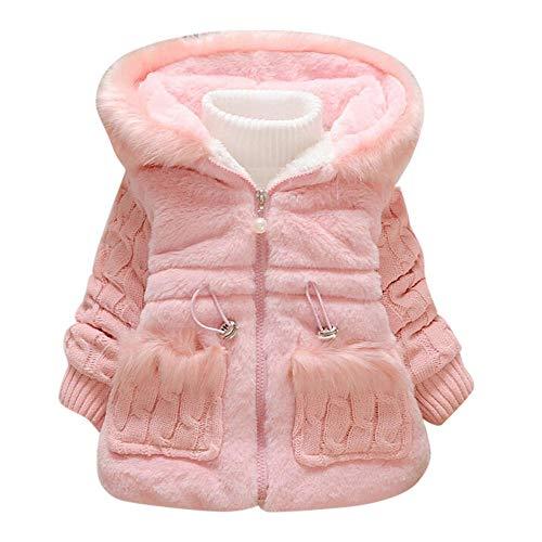 sunymi 1-5 Jahre Baby Jacke Mädchen Solide Outwear Langarm Hoodie Warme Kleidung Mantel