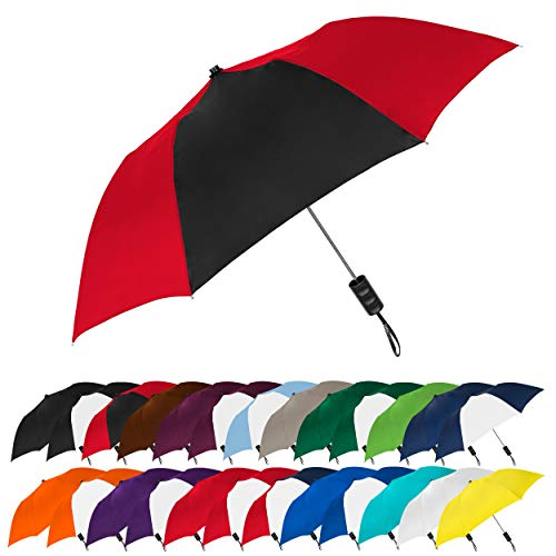 STROMBERGBRAND UMBRELLAS Spectrum Popular Style Automatic Open Close Small Light Weight Portable Compact Tiny Mini Travel Folding Umbrella for Men and...