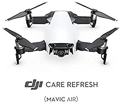 DJI Mavic Air - Care Refresh VIP service plan (Valid for 12 Months), Offers Two Replacement Units Within A Year, Water Damage Coverage, Rapid Support, Drone VIP service plan, Mavic Air Accessories from Dji