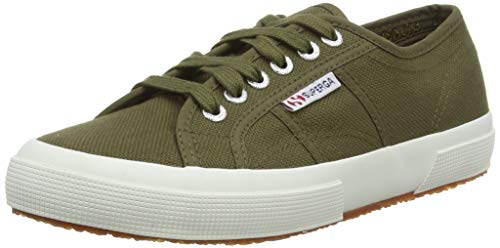 Superga 2750-cotu Classic, Zapatillas de Estar por casa Unisex Adulto, Verde (Military Green 595), EU