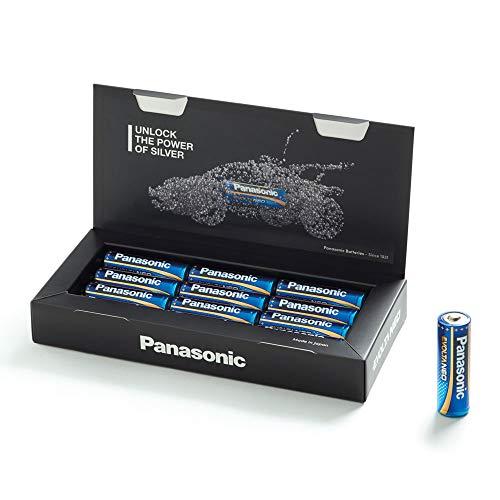 Oferta de Panasonic EVOLTA NEO Pila alcalina Mignon LR6 1.5 V, Rendimiento alto, Duraderos y seguros, Paquete como caja de almacenamiento con 12 pilas AA