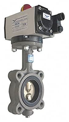 Milwaukee Valve - GLA23E 2 - Butterfly Valve, Dbl Acting, Cast Iron, 2In by Milwaukee Valve