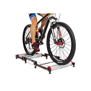 ROCKBROS Rodillo de Rulos para Bicicleta Entrenamiento Ajustable Plegable para Ciclismo MTB Carretera 16-29 Pulgadas