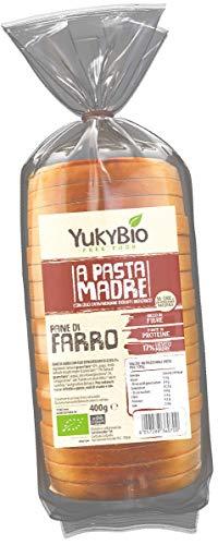 Yukybio Pane Bauletto biologico Pasta Madre di Farro 400g
