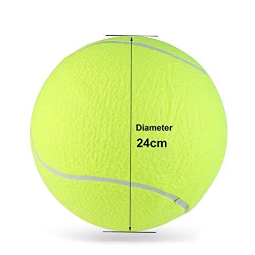 LUOEM Große Tennisball für Haustiere Outdoor Sport 9,5 Zoll