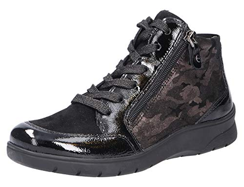 ARA Meran 1241048 Chaussures de sport pour femme - Noir - Noir Ombi., 37.5 EU