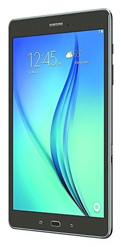 Samsung Galaxy Tab A SM-T550 9.7-Inch Tablet (32 GB, Smoky-Titanium) W/Book Cover (Certified Refurbished)