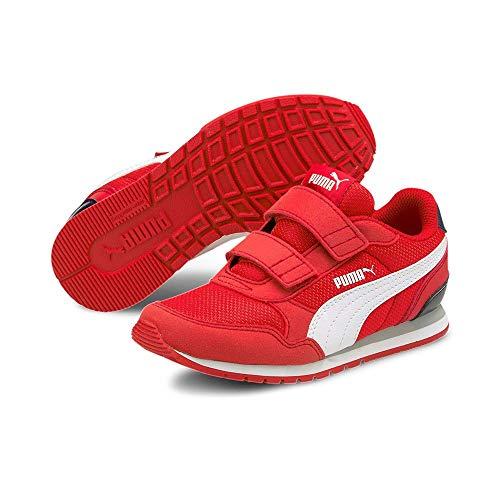 Puma ST Runner v2 Mesh V PS, Zapatillas de Running, Red, 32 EU
