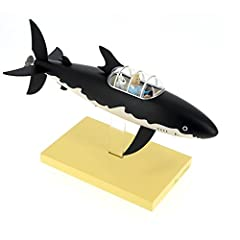 Moulinsart Resin Figure The Submarine Shark - Icons Collection, Adults, Unisex, Black, One Size #3