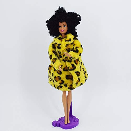 XKMY Muñeca Barbie Nueva 11 articulada DIY Desnuda Desnuda Muñeca Cuerpo Para Muñeca Barbie Casa DIY Cuerpo Con Cabeza 1:6 Accesorios Regalos (Color: C)