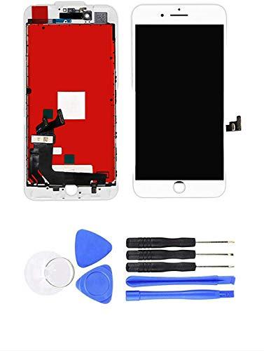 Pantalla de repuesto para iPhone 6S LCD digitalizador de repuesto (blanco)