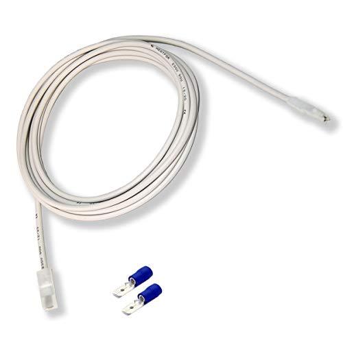 Résistance silicone 1m, 30W. Câble chauffant flexible pour usage professionnel et privé. Pour semis, aquariums, terrariums de reptiles, incubateurs, humidités, réfrigérateurs, fabrication de bière