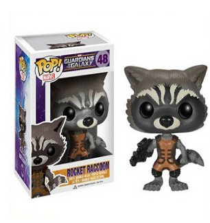 Funko POP Guardians of the Galaxy # 48 Rocket Raccoon