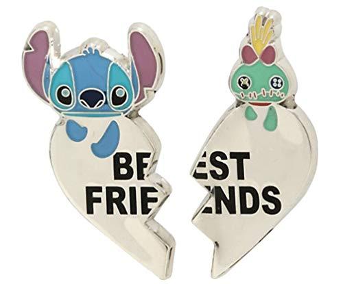 Loungefly Disney Lilo & Stitch Scrump & Stitch Best Friends Enamel Pin Set