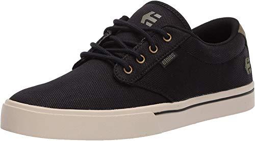 Etnies Jameson 2 Eco, Zapatillas de Skateboard Hombre, Negro (539/Black/Green/Gold 539), 41 EU