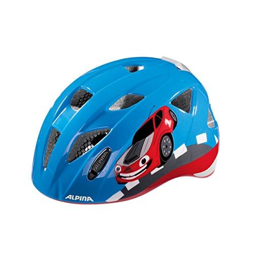ALPINA Radhelme XIMO Flash 47-51 cm Kinderhelm Fahrradhelm Bike Helmets RED CAR