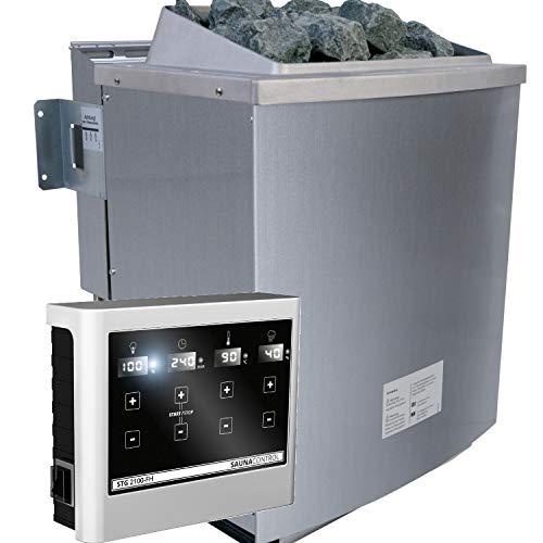 Unbekannt Karibu 9 kW Bio-Kombiofen Saunaofen inkl. Steuergerät Easy - Sparset