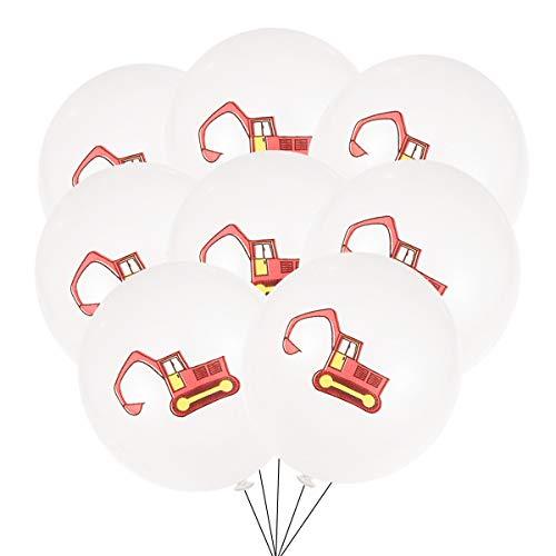 Amosfun Globos de látex para fiestas de cumpleaños sin cinta