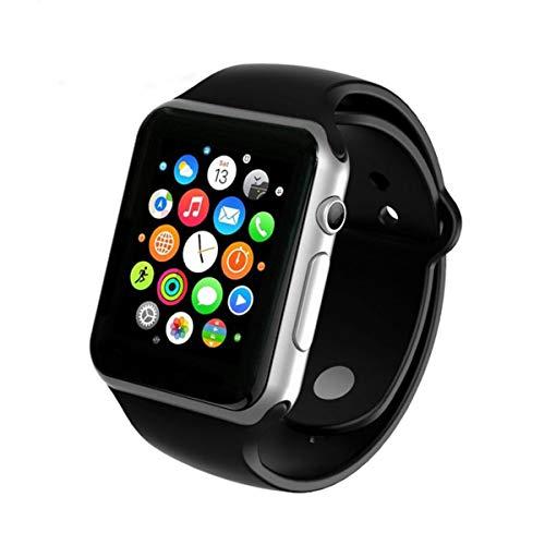 PRIXTON - Orologio Smartwatch / Orologio Smartwatch Android / iOS Per uomini e donne con chiamate, SIM / MicroSD, fotocamera | SW15