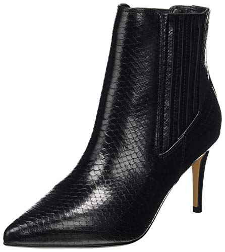 Buffalo Damen MAKENNA Mode-Stiefel, SNAKE BLACK, 41 EU