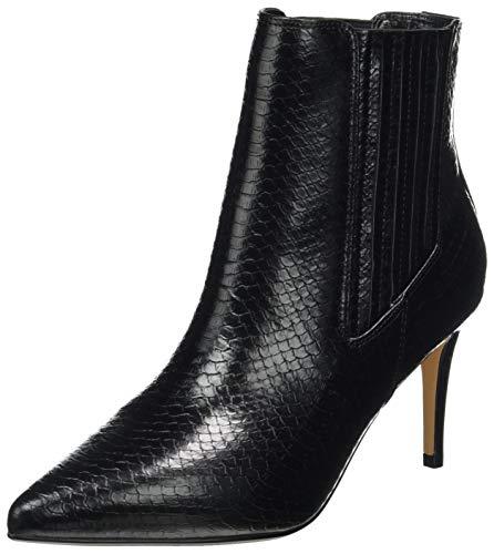 Buffalo Damen Makenna Mode-Stiefel, Snake Black, 38 EU