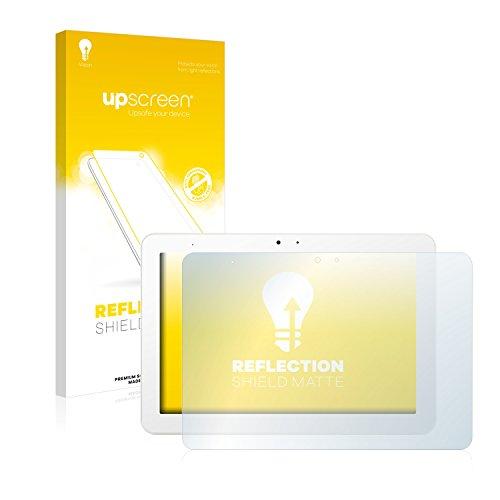upscreen Entspiegelungs-Schutzfolie kompatibel mit BQ Edison 3 – Anti-Reflex Bildschirmschutz-Folie Matt