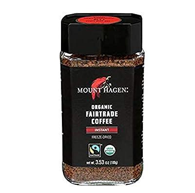 Mount Hagen Organic Freeze Dried Instant Ground Coffee, 3.53 oz